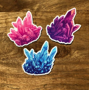 Image of Crystal Stickers 3 pack