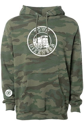 Image of Town Bizzness Camouflage Hoodie