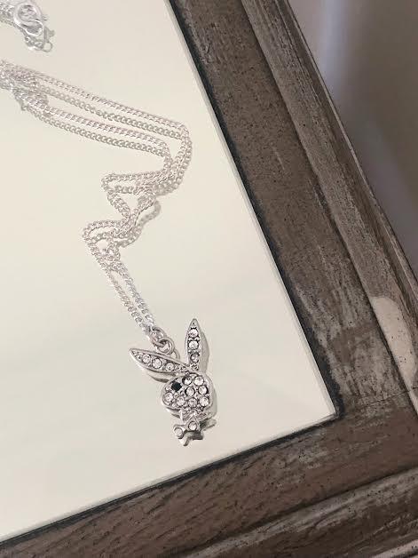 Playboy Charm Necklace w/ Chain
