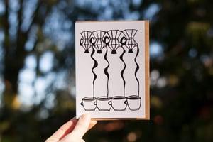 Image of Quadruple Shot Notecard
