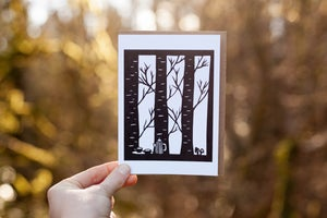 Image of Forest Fika Notecard