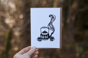 Image of Tea for Two Notecard