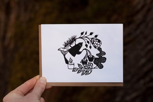 Image of Autumn Fika Notecard