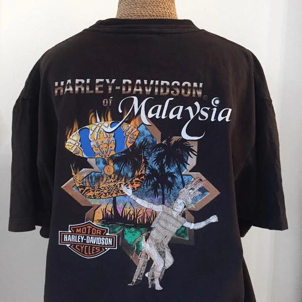 Lighting Vintage Harley Davidson T-Shirt