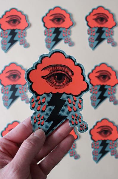 Image of Crying Eye Sticker