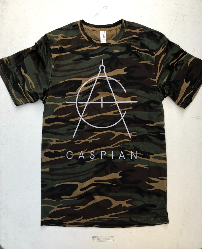 Image of Camo Shirt w/ Compass Logo - Final Run of this Design!