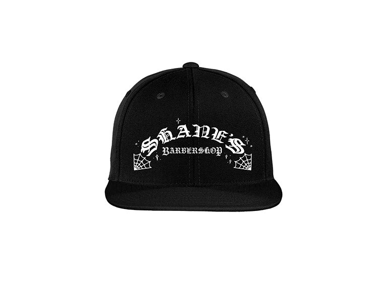 "Image of Shane's ""Web"" Snapback (black)"