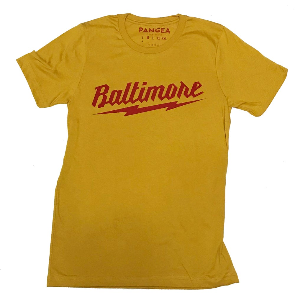 Image of Baltimore Bolt Mustard/Red