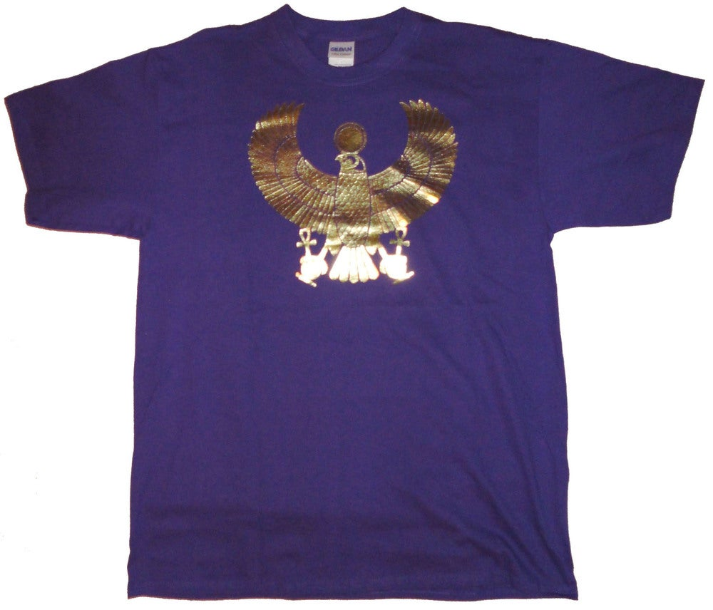Image of Men's Gold Heru Foil Vintage Tee