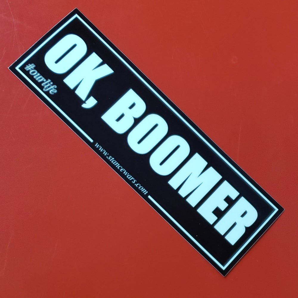 Image of OK Boomer - Slap