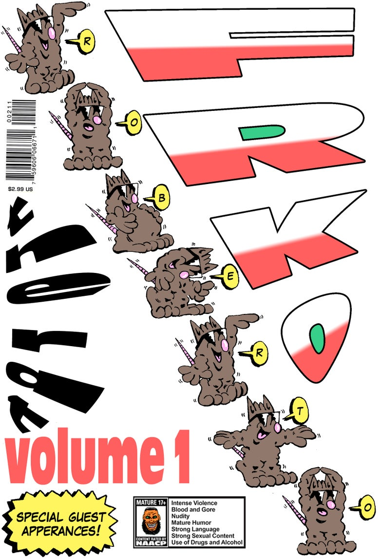 "Image of ""ROBERTO THE RAT VOLUME 1"" COMIC (2-PAGES)"