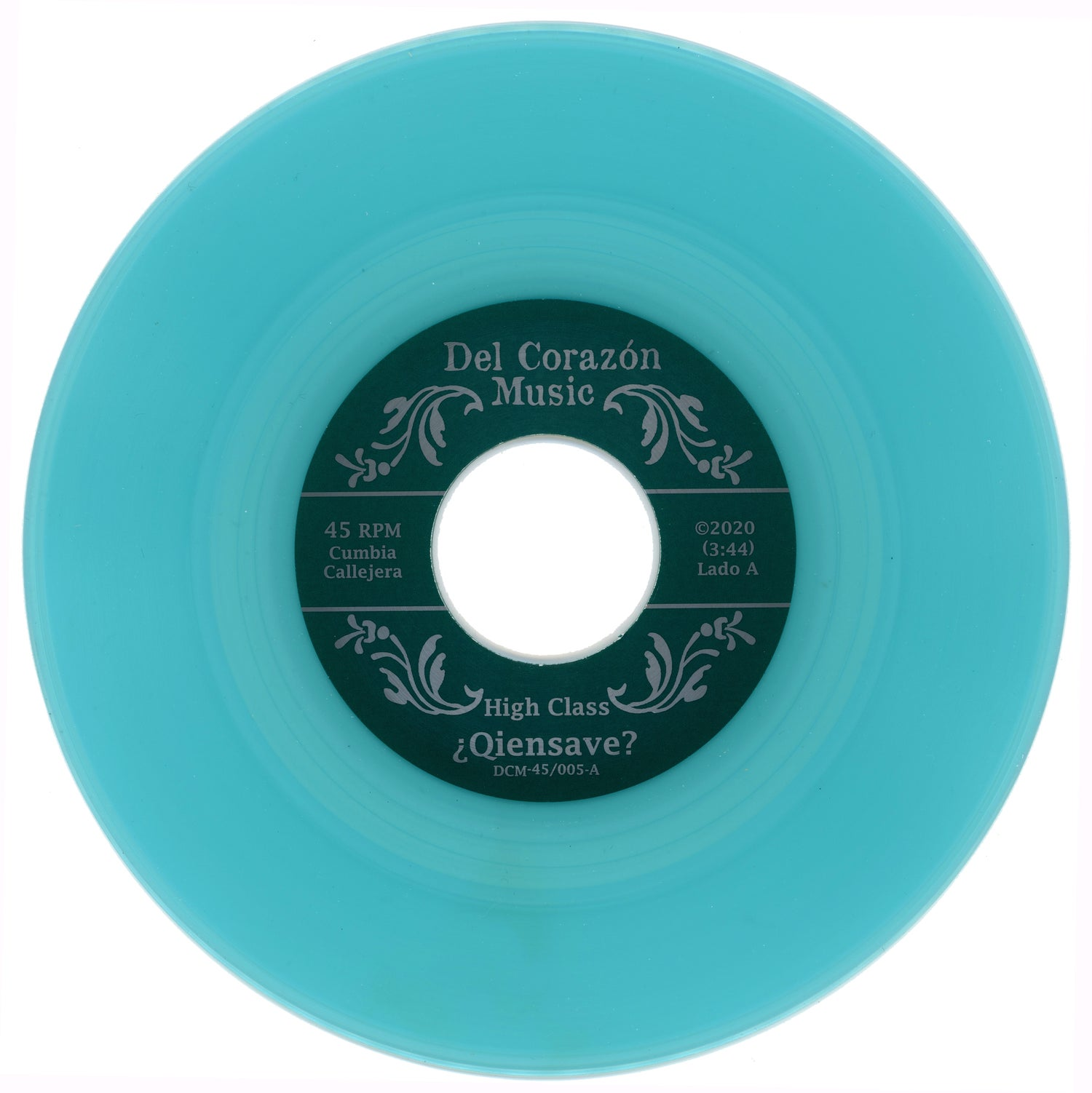 "Image of ¿Qiensave? (45rpm) - ""High Class / 512-1433"" **w/download card & jukebox strip"