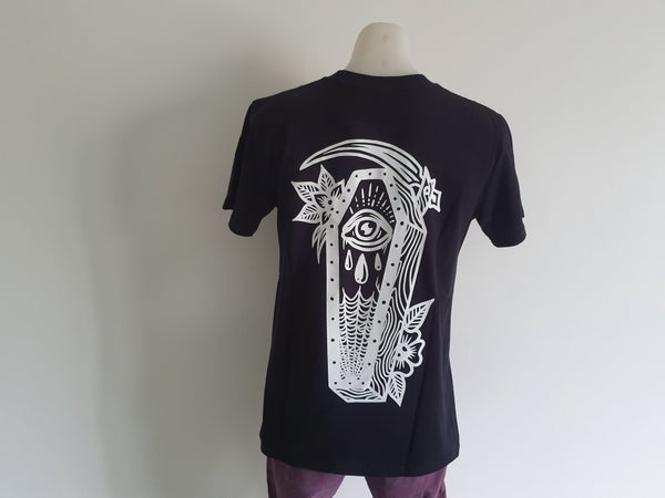 Image of Facing Death Tee (Black)