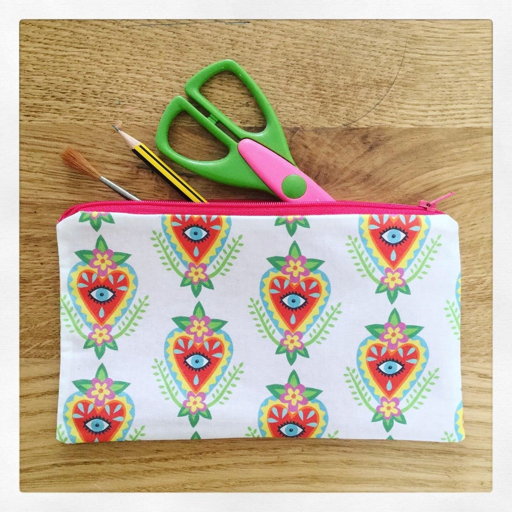 Image of Sacred Heart Pencil Case
