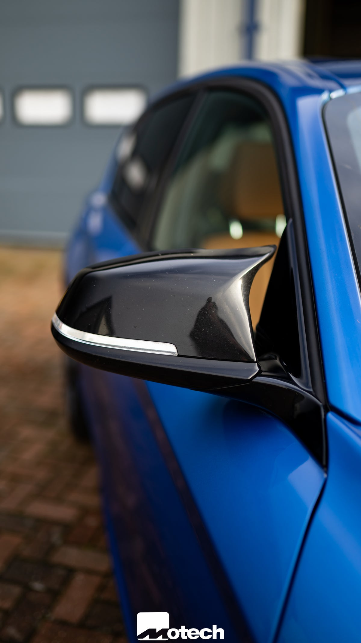 Image of BMW M Style Gloss Black Mirror Covers (F Series)