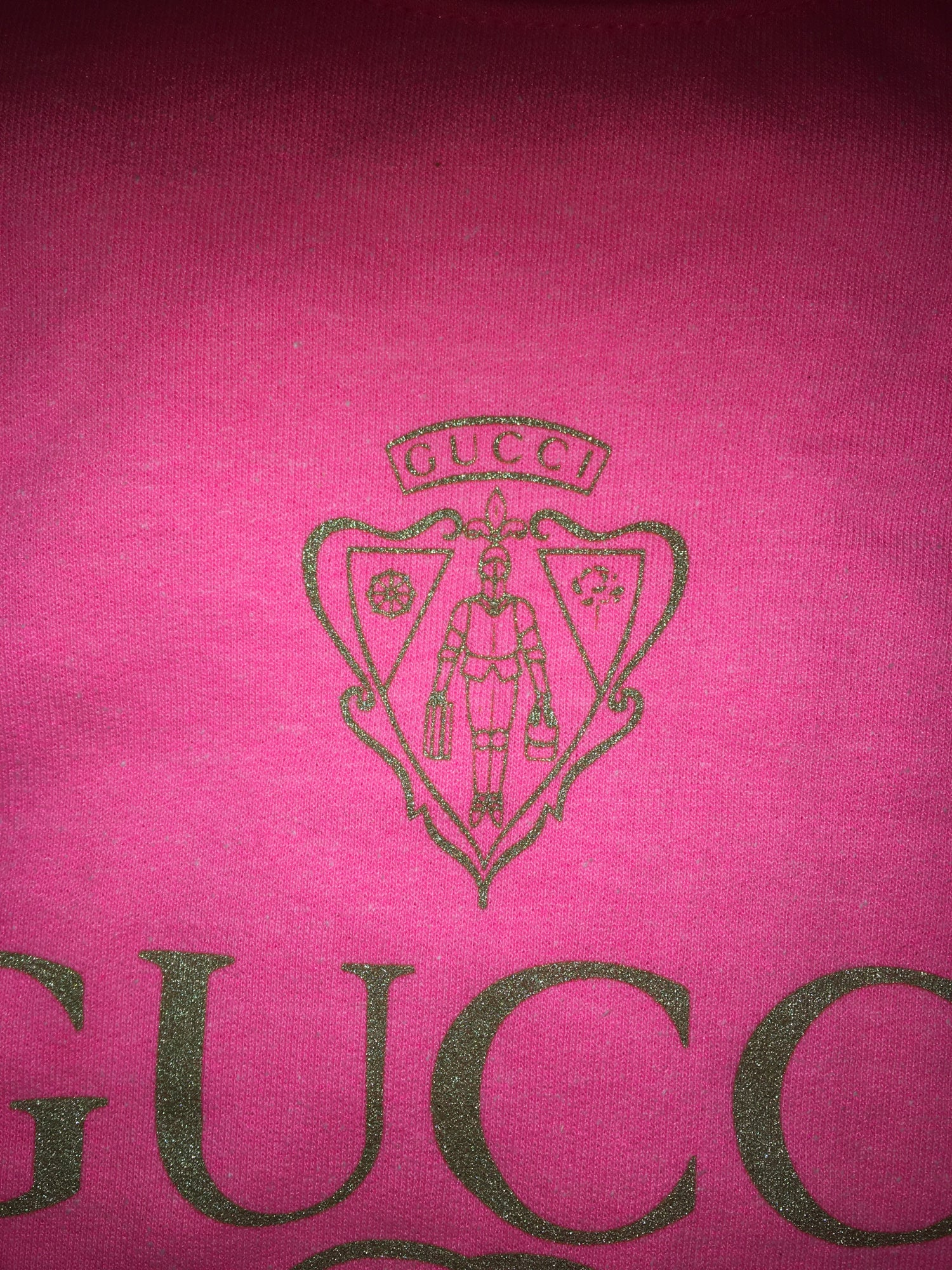 Image of Vintage Double G Pink T-Shirt