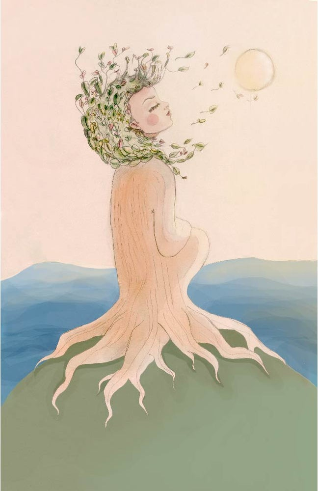 Image of COMMANDE PERSONNALISEE JESSICA B - Illustration numérique personnalisée  - carte de visite