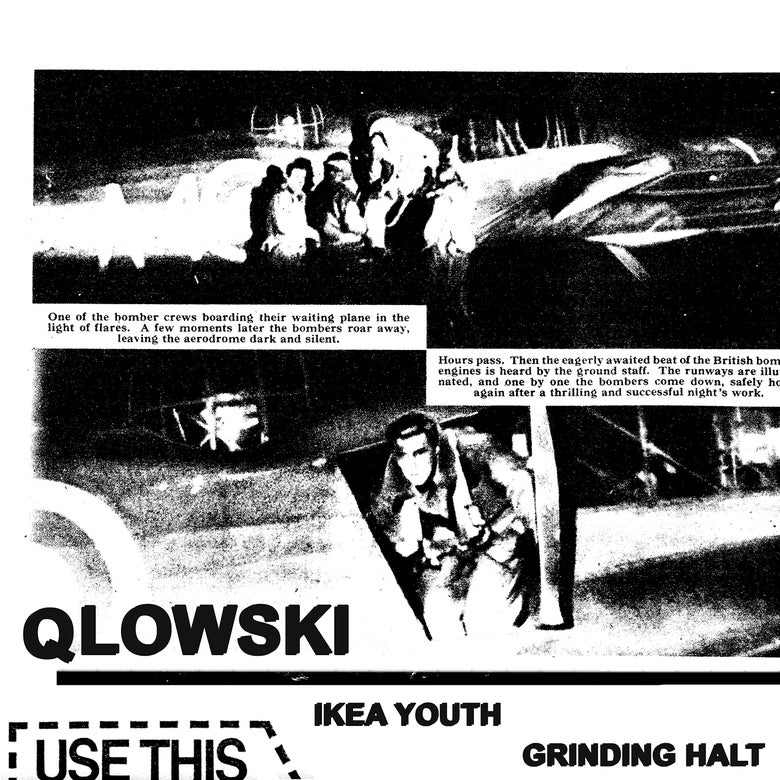 """Image of Qlowski - Ikea Youth / Grinding Halt 7"""" (MDR037)"""