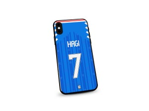 Image of Rangers 19/20 home shirt phone case