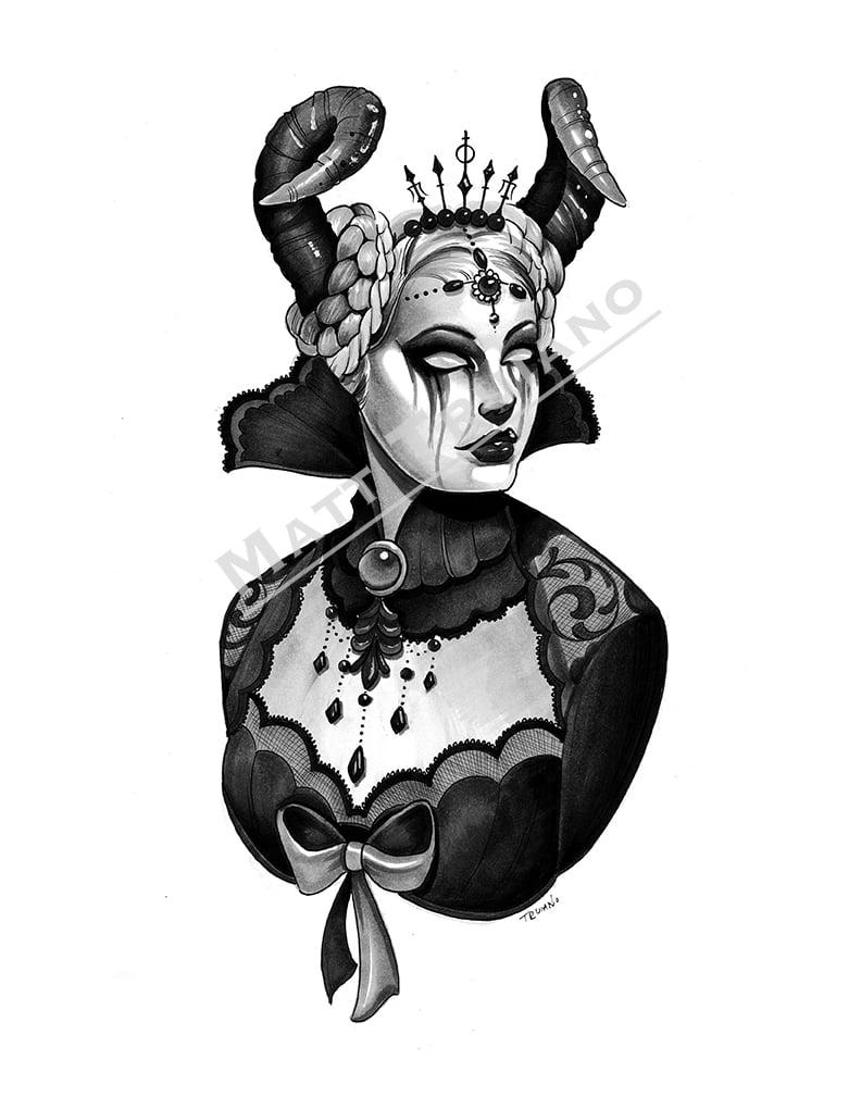 Victorian Ram Queen
