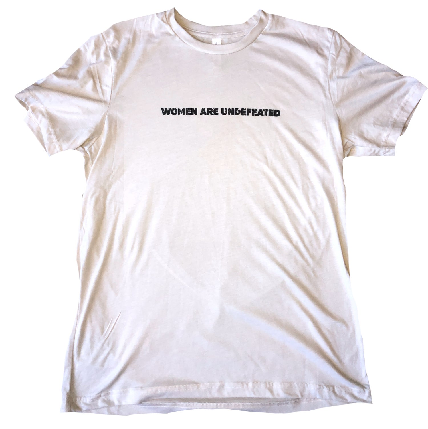 Image of PRE-SALE: Vintage Inspired Natural White Sueded Tee (Sammy Rickey Collection)