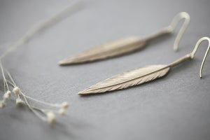 Image of quill earrings (metal options available)