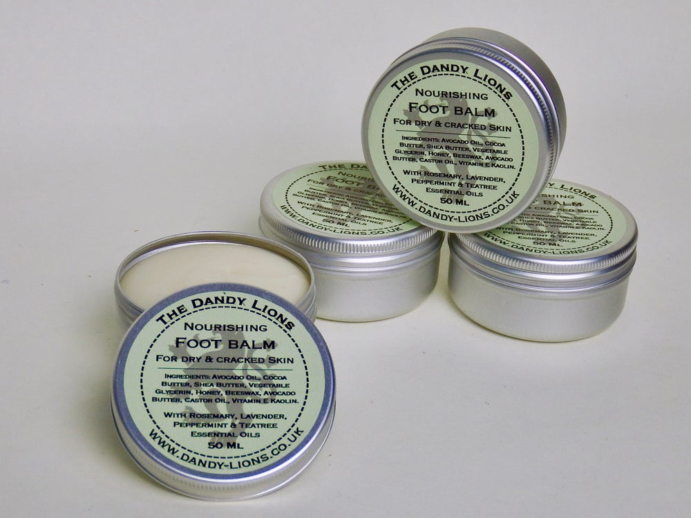 Image of Nourishing Foot Balm