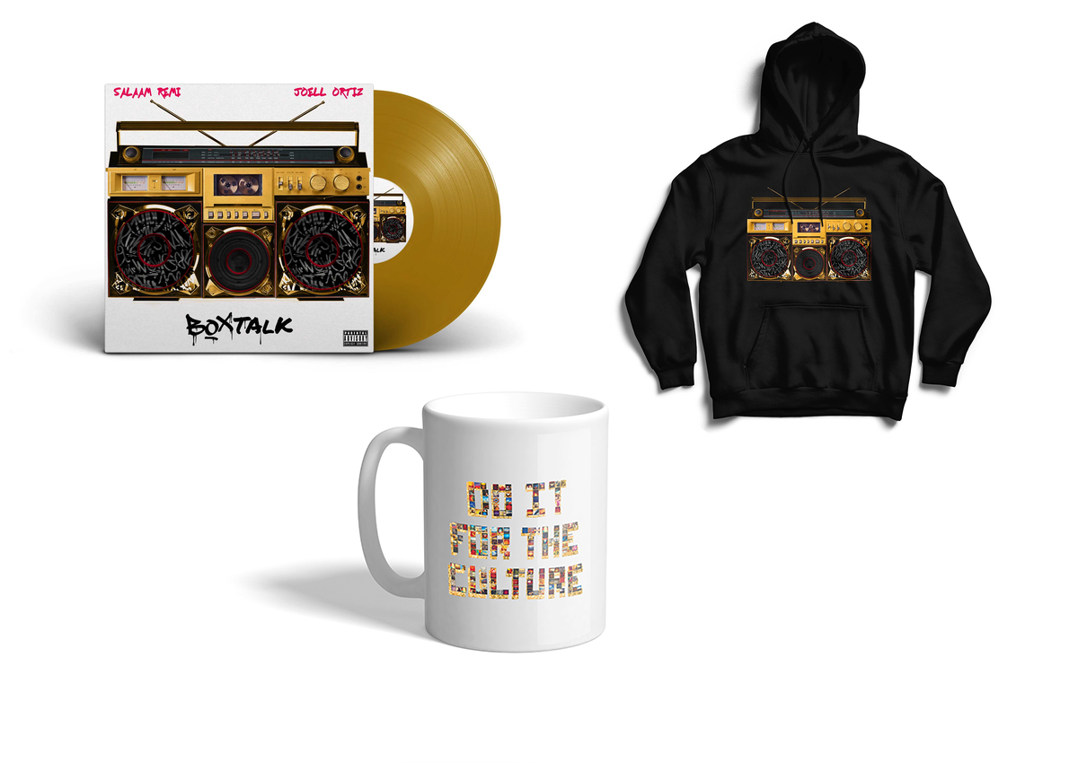 Image of Bundle BoxTalk EP (Limited edition Color Vinyl, 'Culture Mug', & Hoodie)