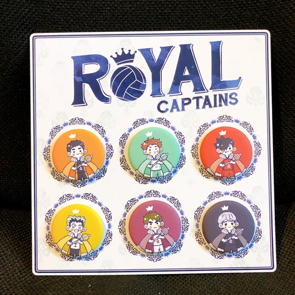 Image of Royal Captains Button Set