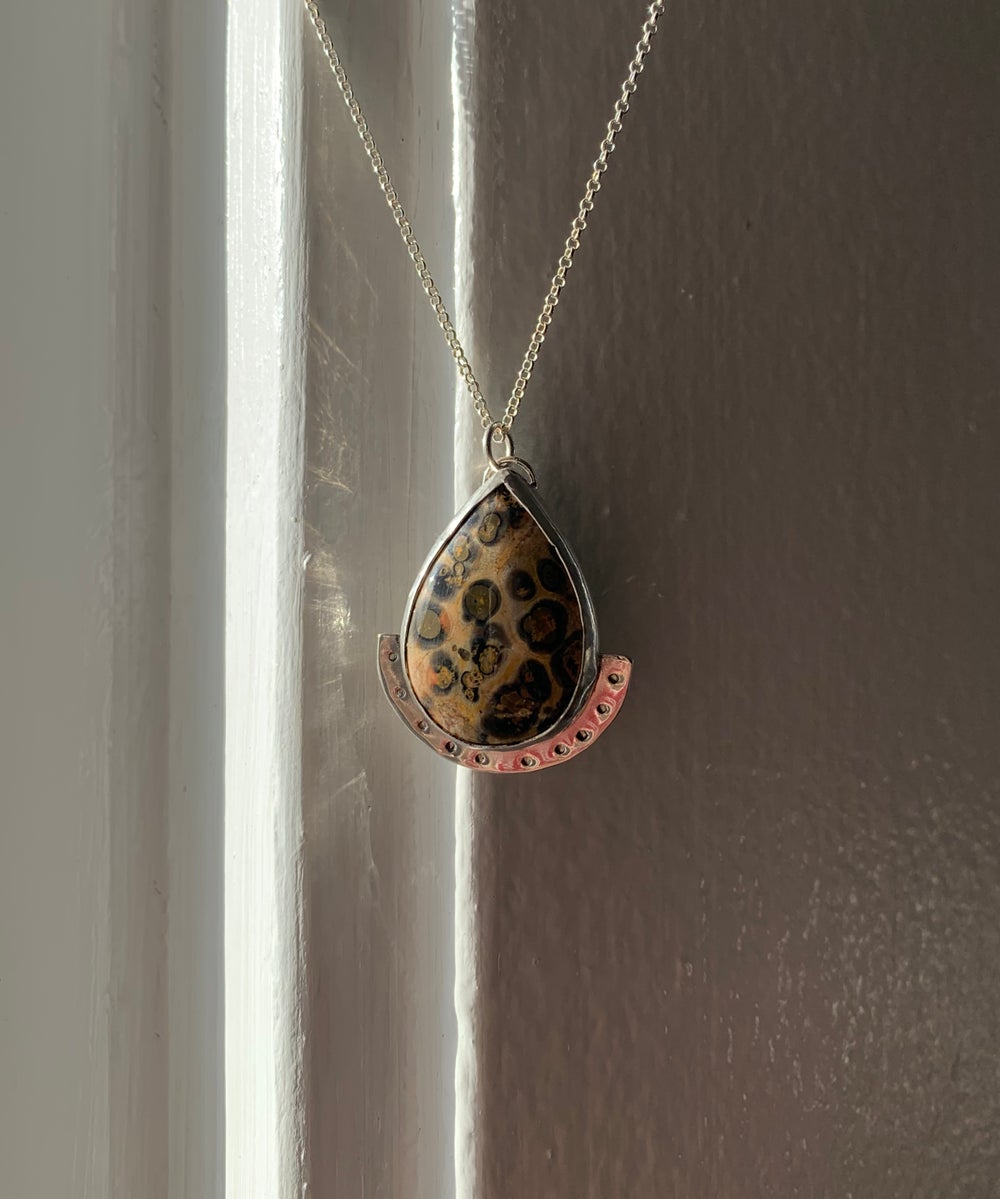 Image of Leopard Jasper Necklace