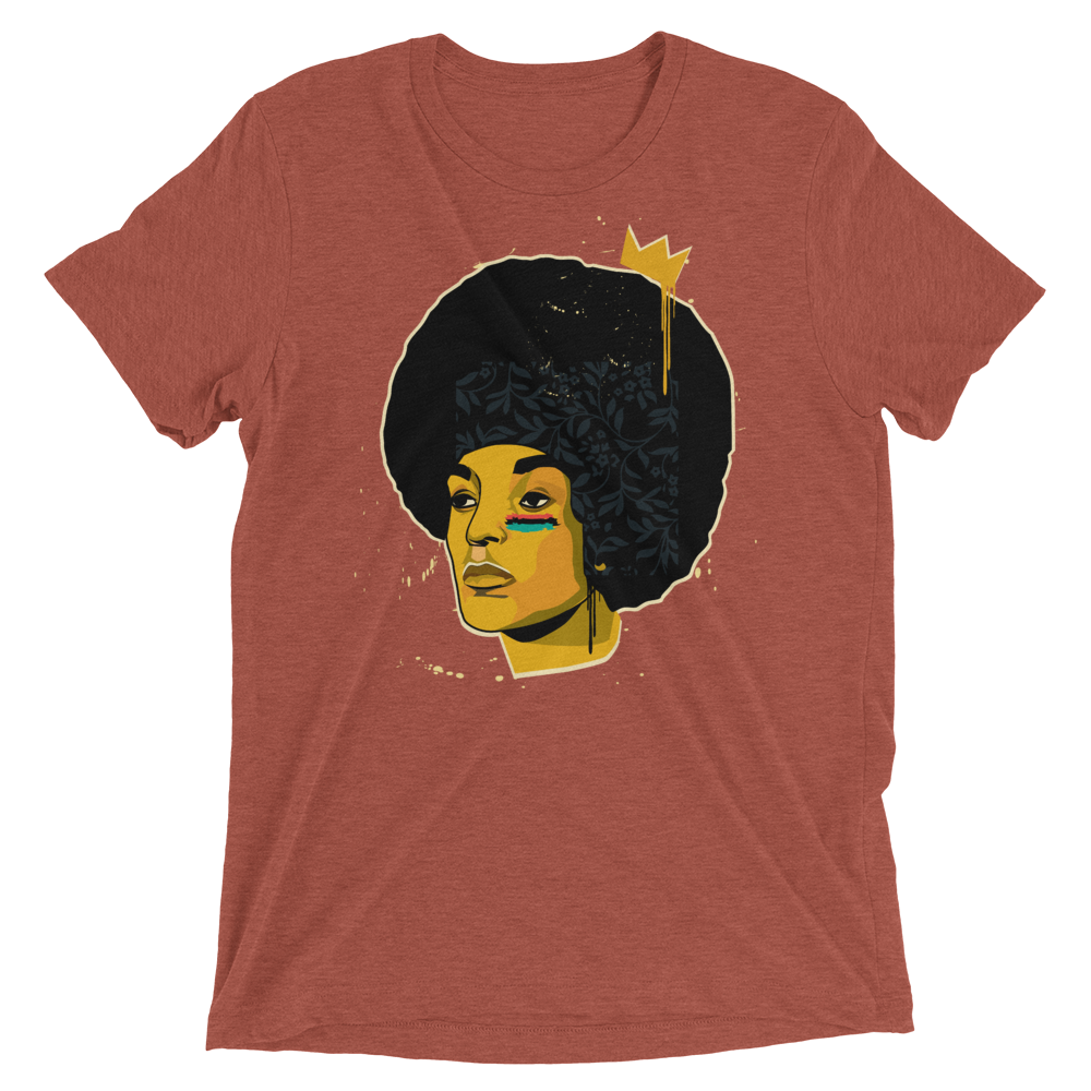 Image of MISS. SHAKUR (Clay Tri-Blend)