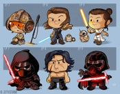 Image of Evolution of Rey/Kylo