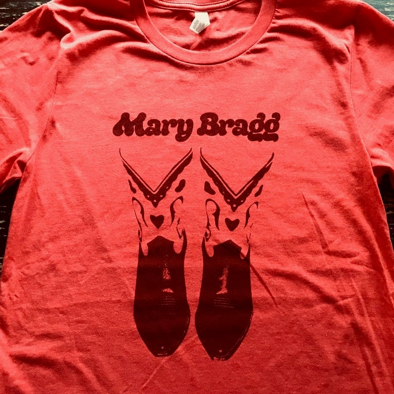 Image of Canvas Poly-Blend T-Shirt (Red)