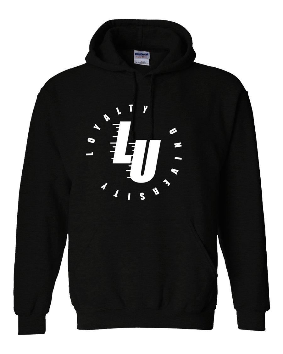 Image of Fly Drip L U Logo Hoodie