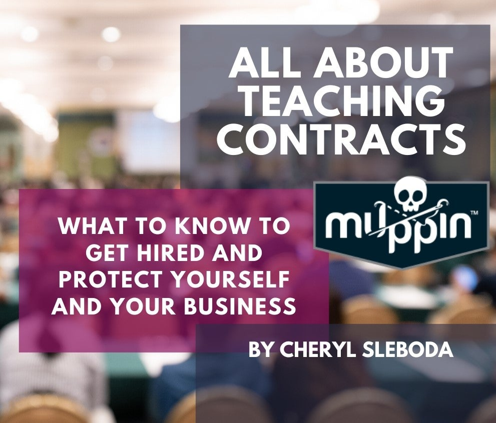 Image of All About Teaching Contracts ONLINE CLASS!