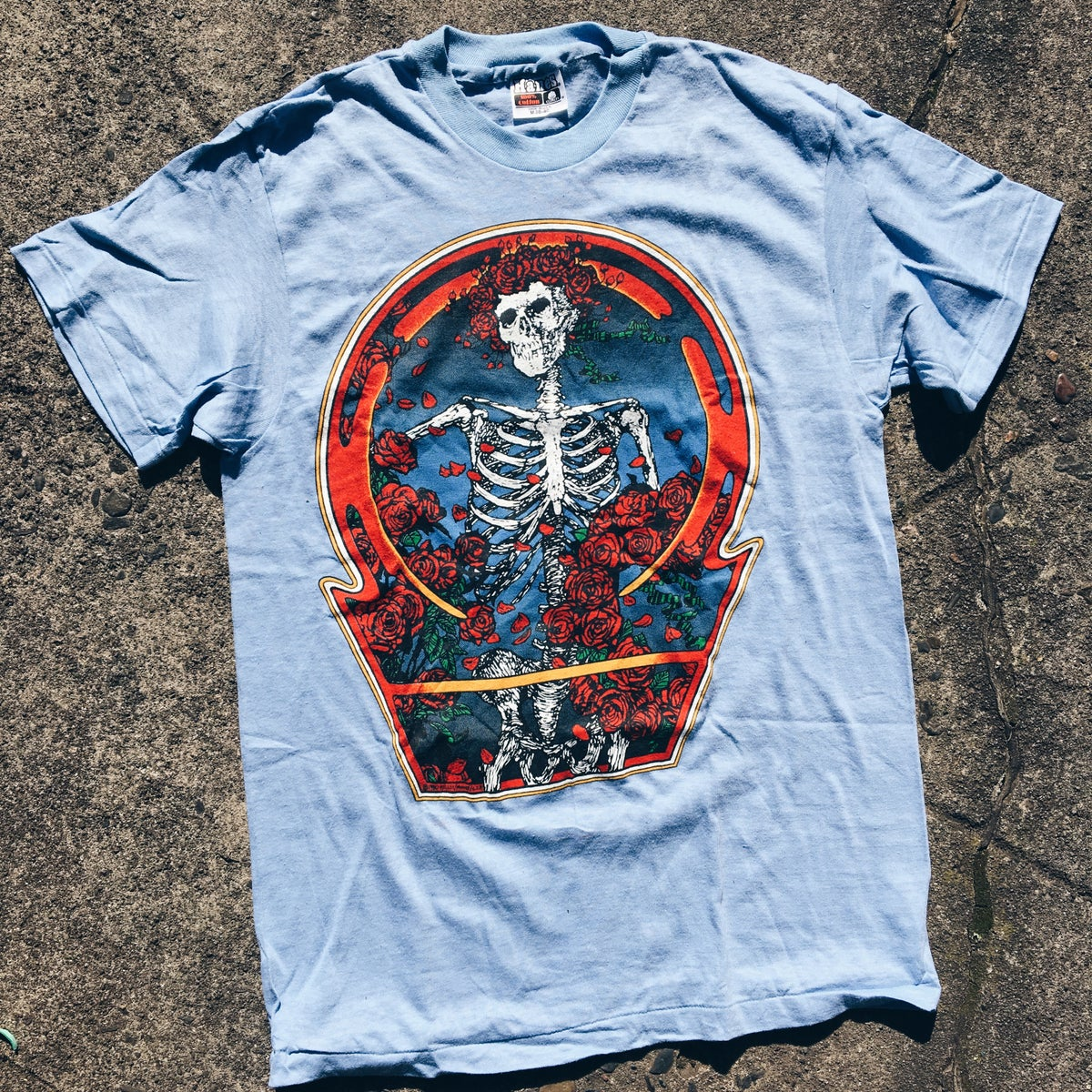 Image of Original 1980 Grateful Dead Tee.