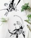 Cosmic Plesiosaur, print