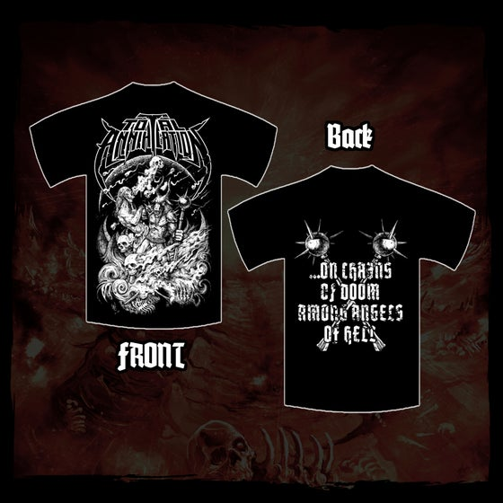 Image of ...On Chains Of Doom Shirt