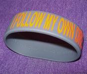 Image of I Follow My Own Dream Fat Bracelet