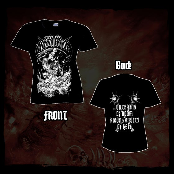 Image of ...On Chains Of Doom Girlie Shirt