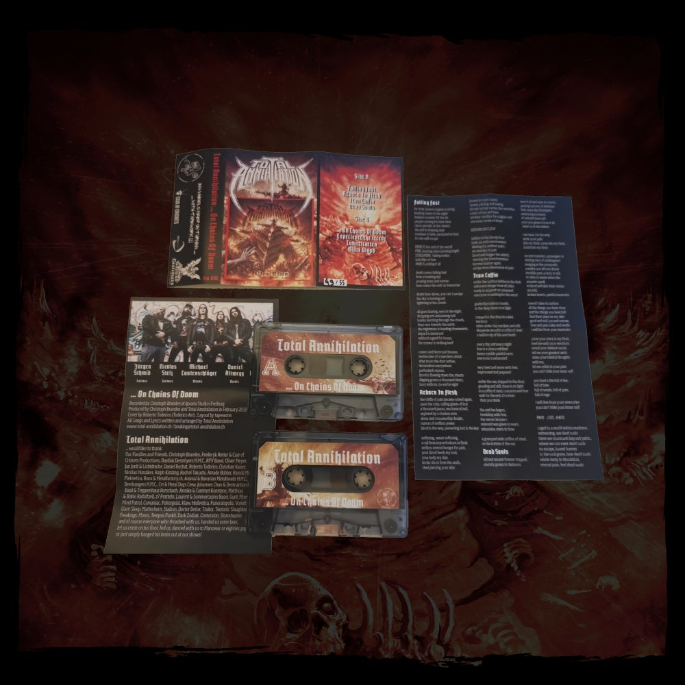 Image of ...On Chains Of Doom Tape