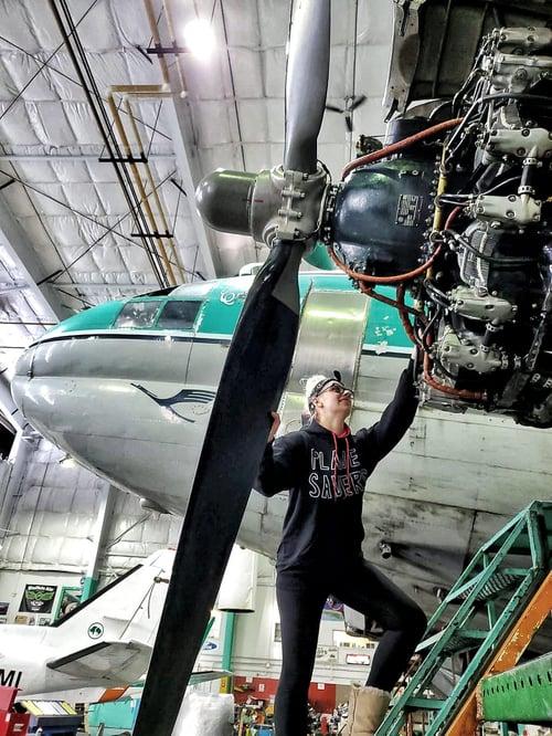 Image of Plane Savers Hoodie