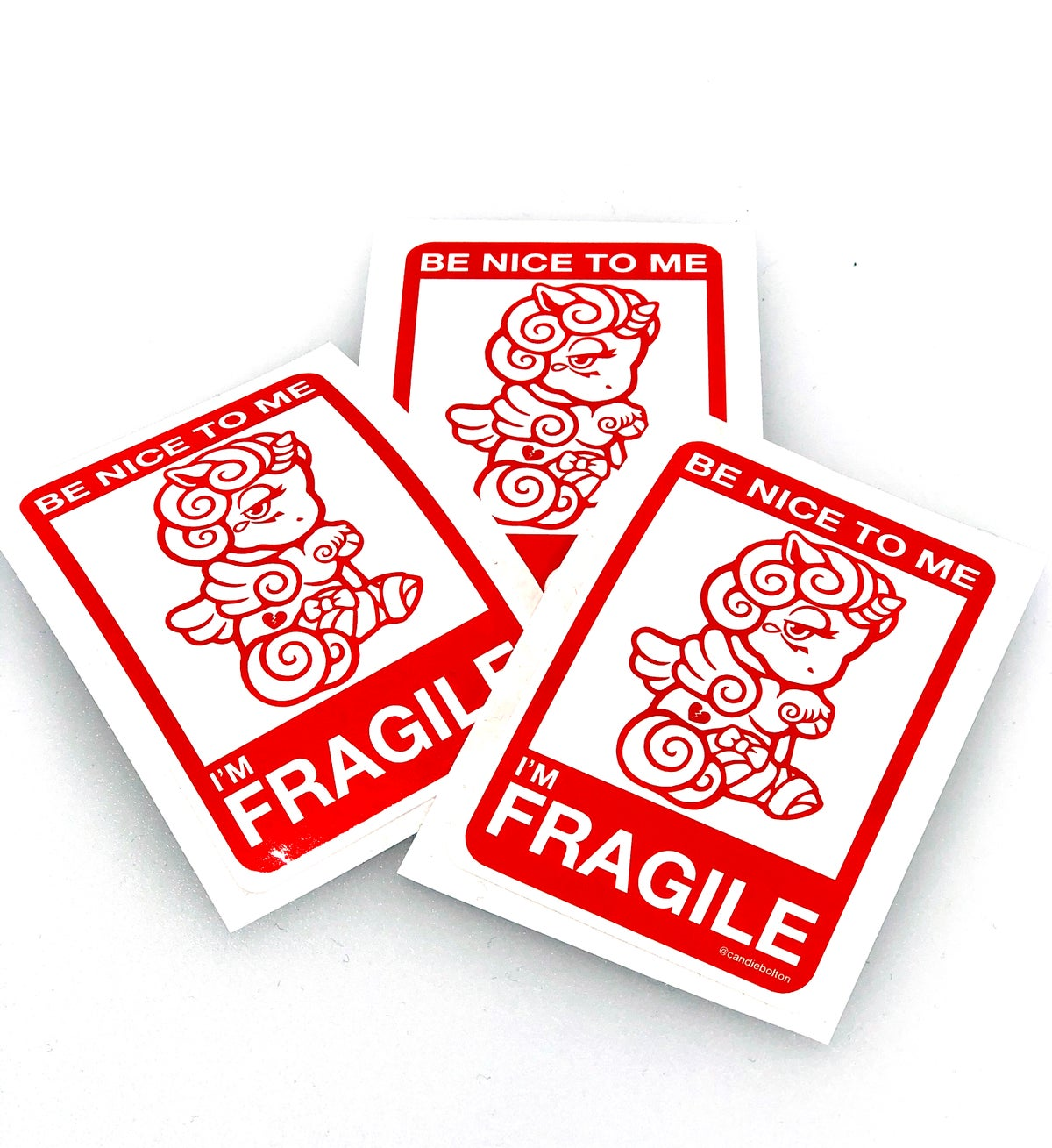 Image of Fragile stickers