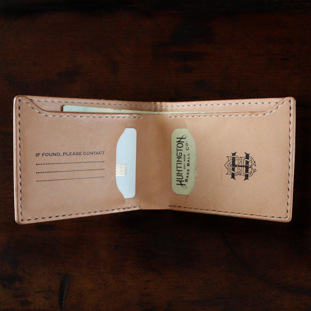 Image of Classic Baseball Leather Billfold - Slim
