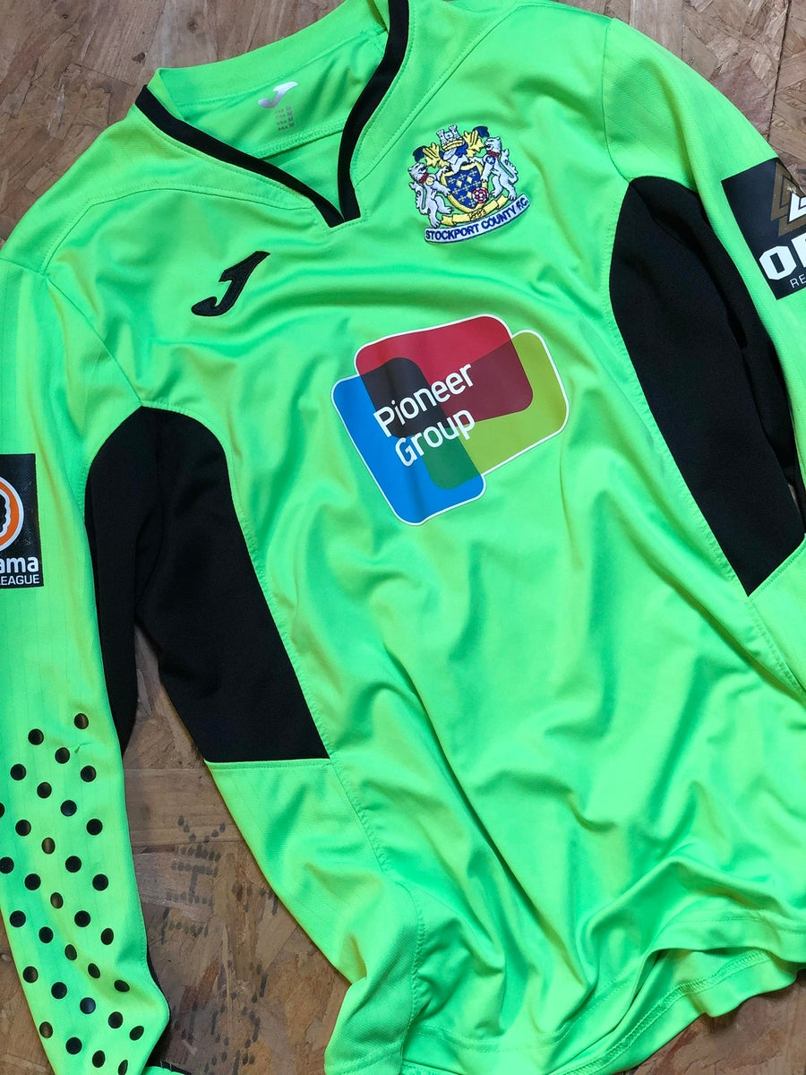 Image of Match Issue 2018/19 Joma Home Goalkeeper Shirt