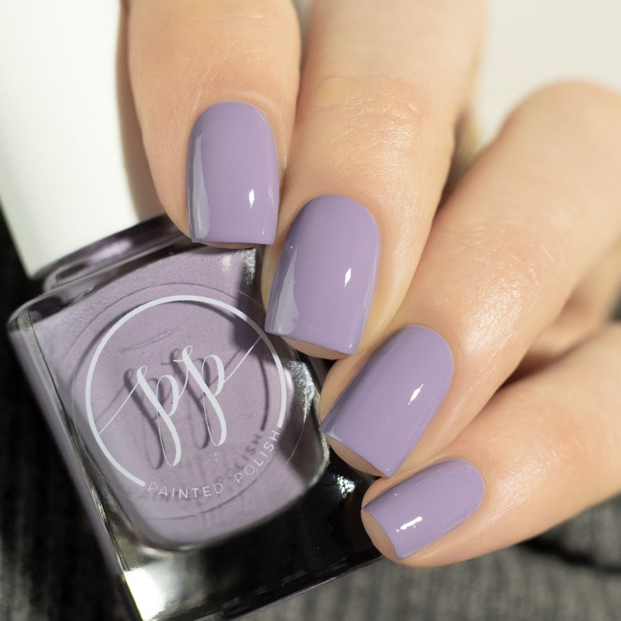 Image of Stamped in Pale Mauve