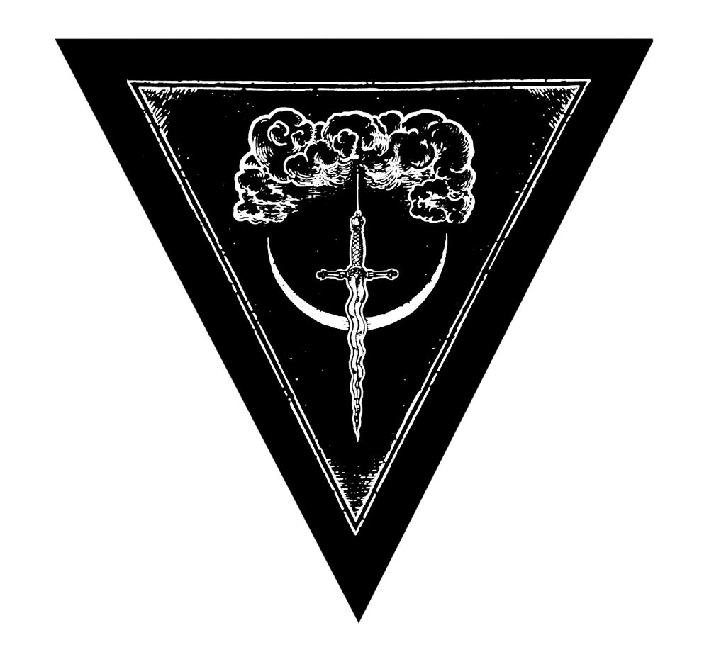 Image of Sword of Damocles Patch/ Back Patch