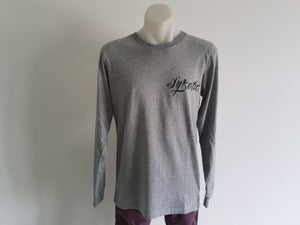Image of Lost At Sea Long Sleeve Tee (Grey)