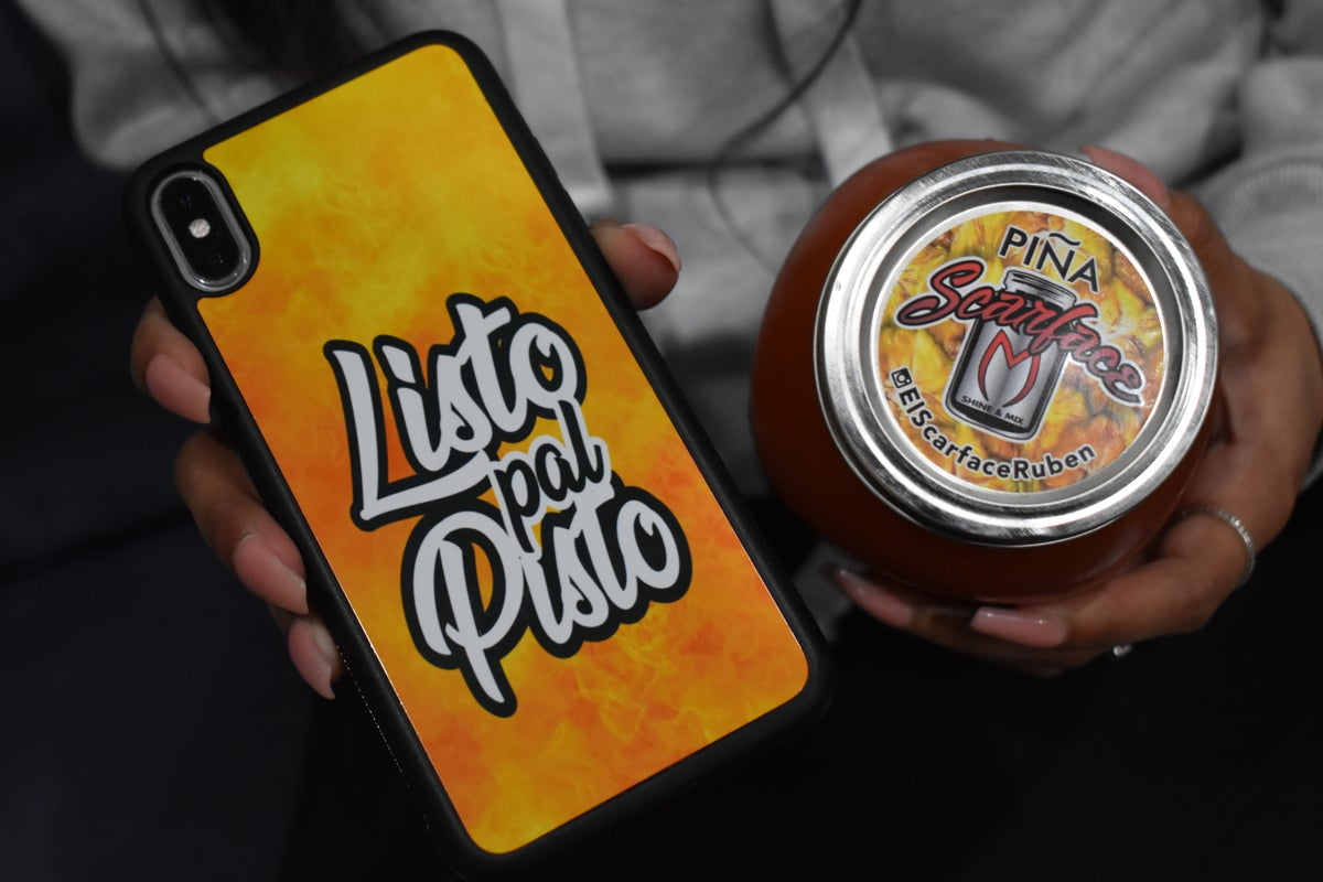 Image of 'Listo Pal Pisto' Custom Case