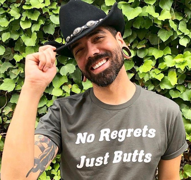 Image of No Regrets Just Butts T-Shirt